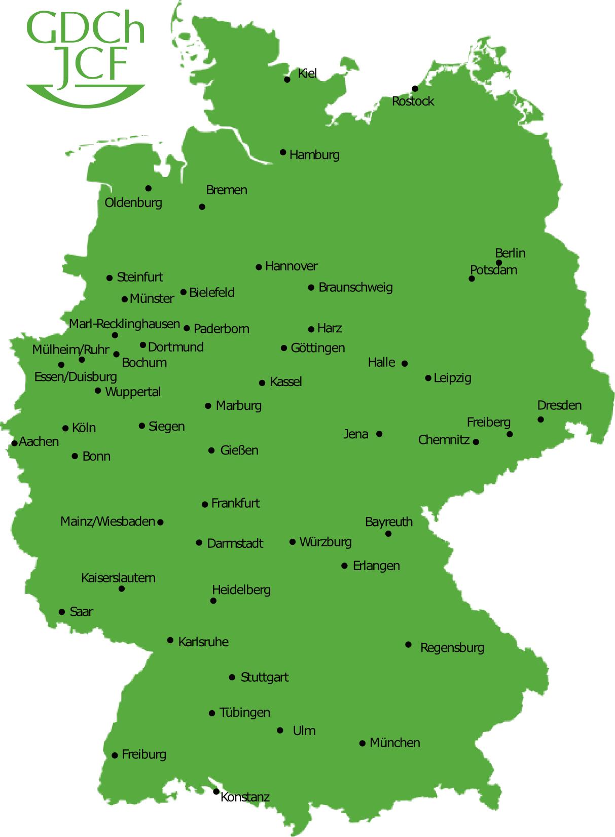 Erlangen Karte Deutschland.Das Jcf
